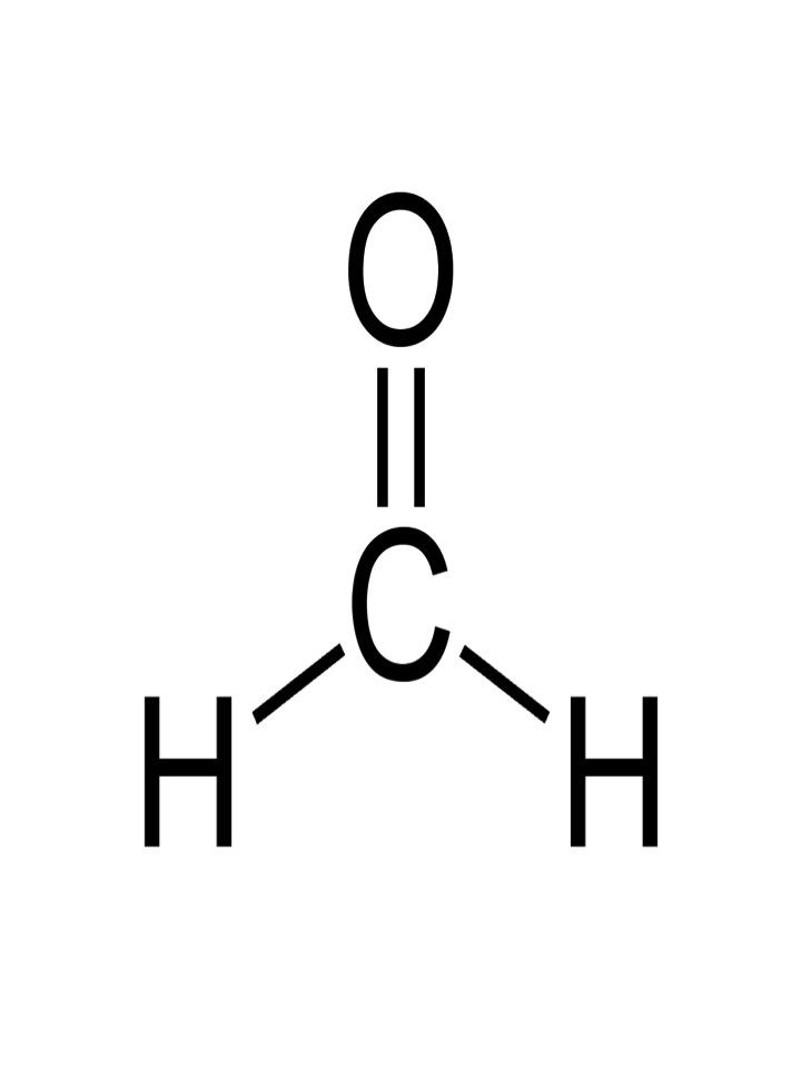 Formaldeide_Formula chimica
